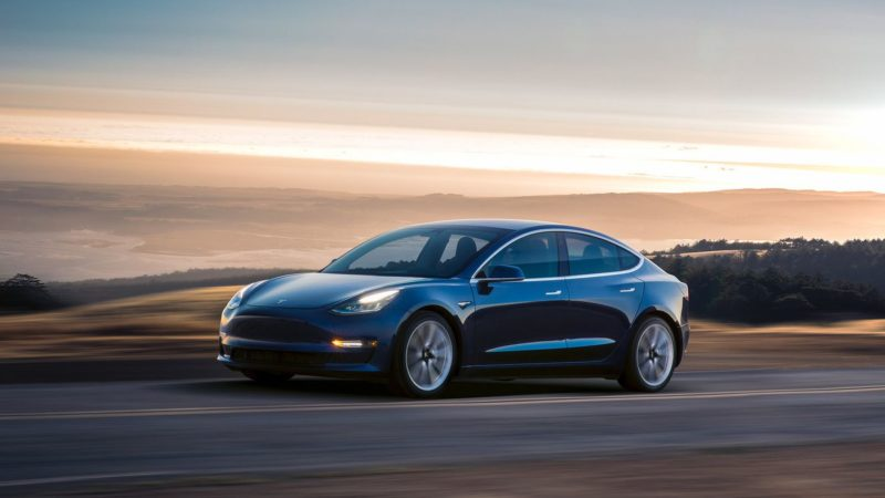 The Tesla Model 3 Arrives