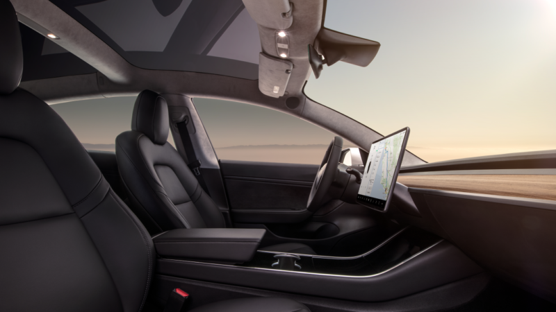 An In Depth Look At The Tesla Model 3 Interior