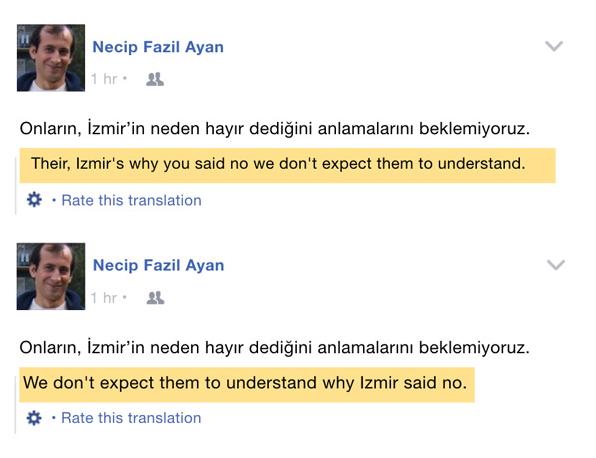 Facebook Machine Learning Translation
