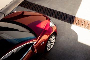 Red-Tesla-Model-3