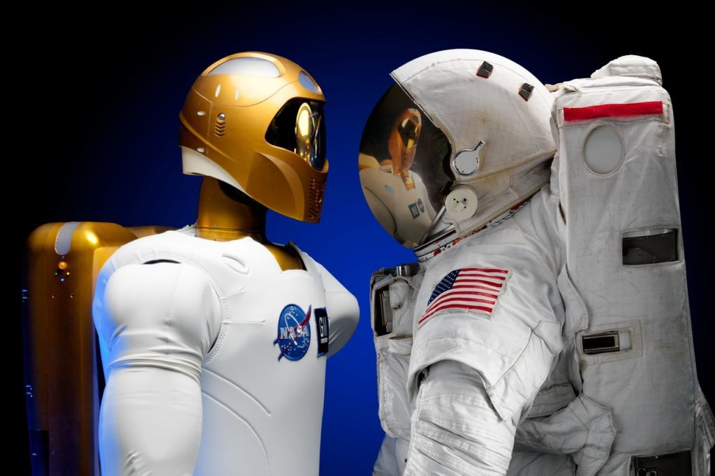 Even if you're an astronaut you'll have robots steal your job