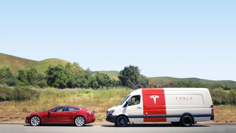 What Are Tesla Mobile Service Centers?