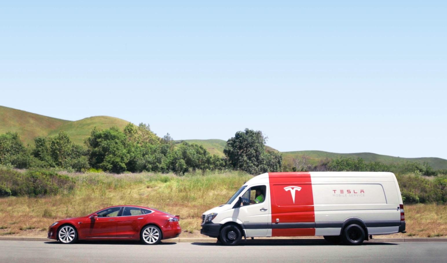 What Are Tesla Mobile Service Centers Alex Shoolman