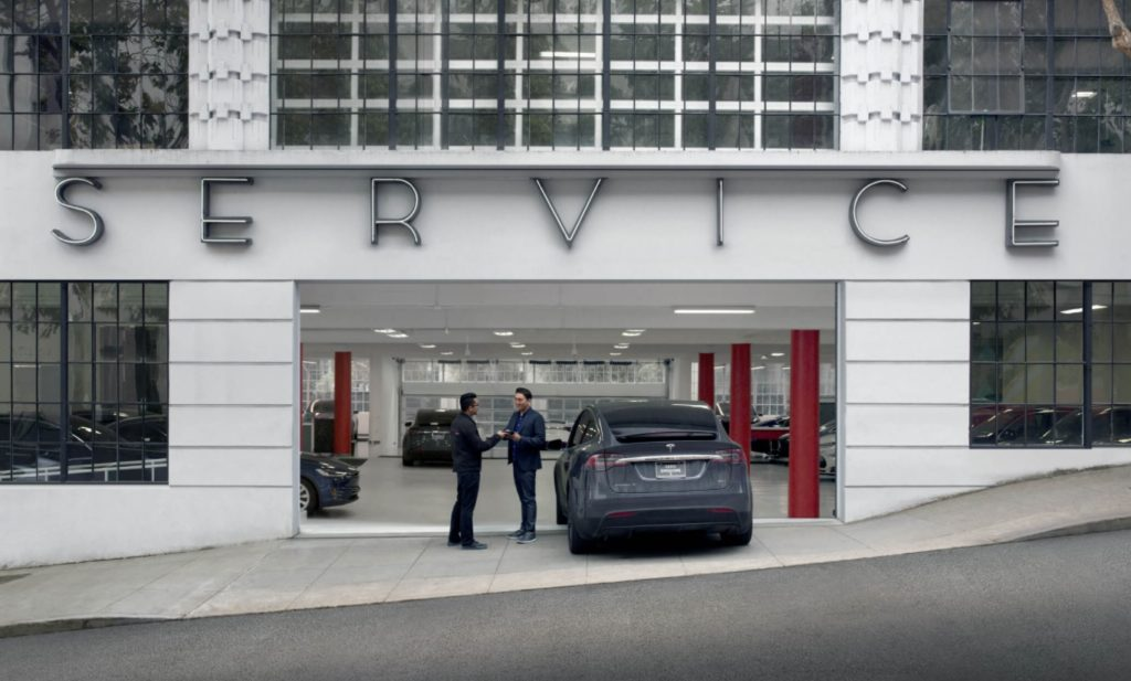 Tesla Mobile Service Centers