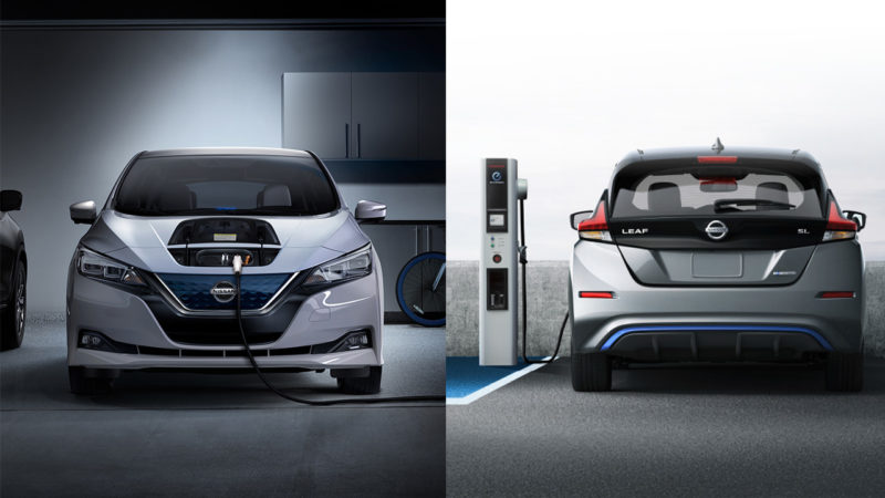 Nissan Leaf 2018 Arrives With More Range And Design Refresh