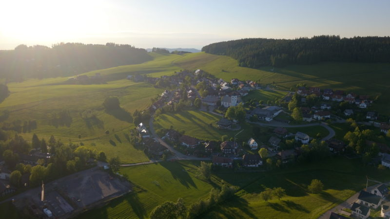 Drone Flying And Road Trip Around Germany's Black Forest