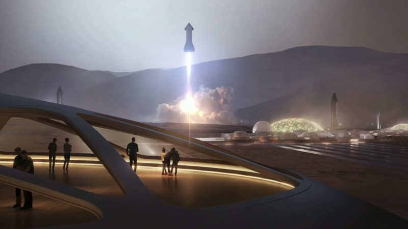 SpaceX's Mark 1 Starship Is An Absolute Unit